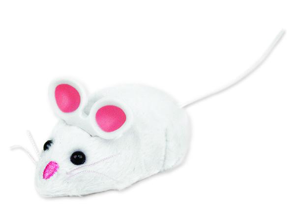 Hračka HEXBUG Robotická myš bílá 1ks