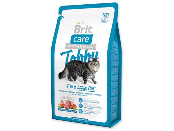 BRIT Care Cat Tobby I´m a Large Cat 400g 2+1 ZDARMA (Nedělitelné množství 3 ks v jednom balíčku.)