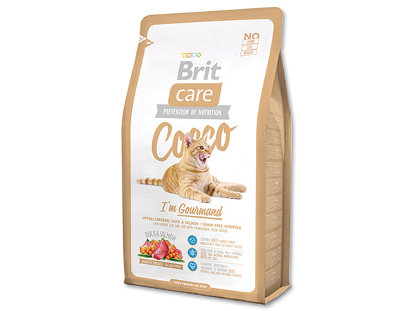 BRIT Care Cat Cocco I`am Gourmand 400g 2+1 ZDARMA (Nedělitelné množství 3 ks v jednom balíčku.)