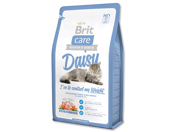 BRIT Care Cat Daisy I`ve to Control my Weight 400g 2+1 ZDARMA (Nedělitelné množství 3 ks v jednom balíčku.)