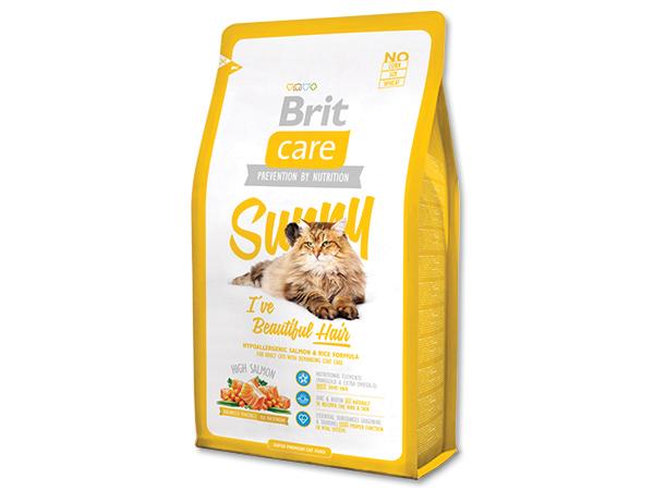 BRIT Care Cat Sunny I`ve Beautiful Hair 400g 2+1 ZDARMA (Nedělitelné množství 3 ks v jednom balíčku.)