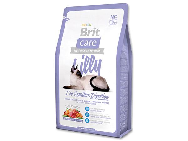 BRIT Care Cat Lilly I`ve Sensitive Digestion 400g 2+1 ZDARMA (Nedělitelné množství 3 ks v jednom balíčku.)