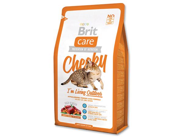 BRIT Care Cat Cheeky I`m Living Outdoor 400g 2+1 ZDARMA (Nedělitelné množství 3 ks v jednom balíčku.)