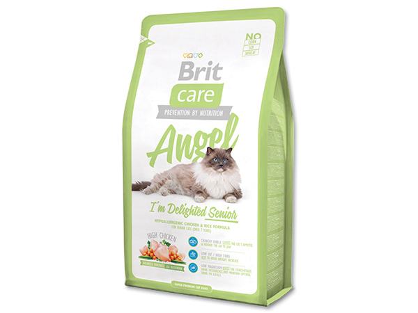 BRIT Care Cat Angel I`m Delighted Senior 400g 2+1 ZDARMA (Nedělitelné množství 3 ks v jednom balíčku.)