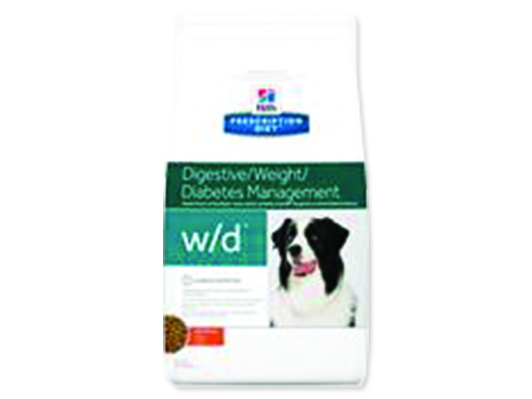HILL`S Prescription Diet Canine w/d with Chicken 12kg