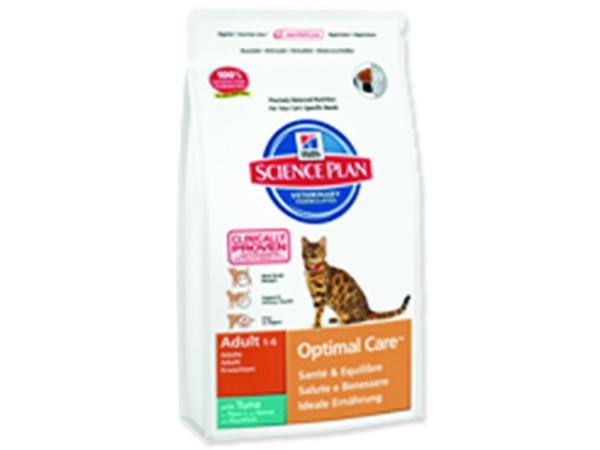 HILL`S Science Plan Feline Adult Optimal Care Tuna 2kg