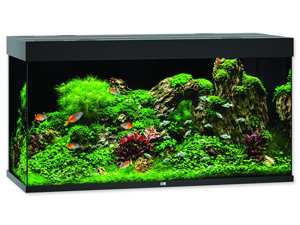 Akvárium set JUWEL Rio LED 350 černé 350l