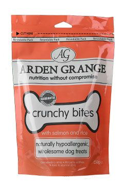Arden Grange Crunchy Bit. Salmon pochoutka 250g