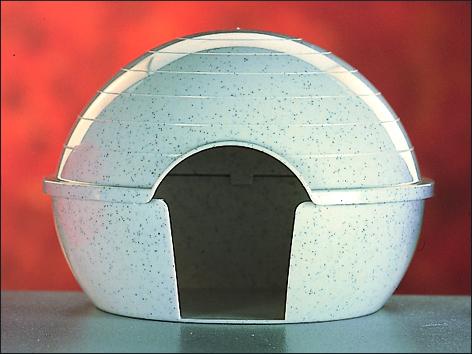Domek SAVIC plastový pro křečky 1ks