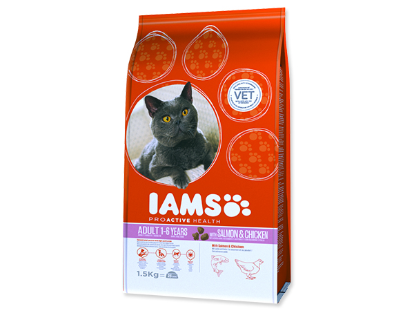 IAMS Cat rich in Salmon 1,5kg