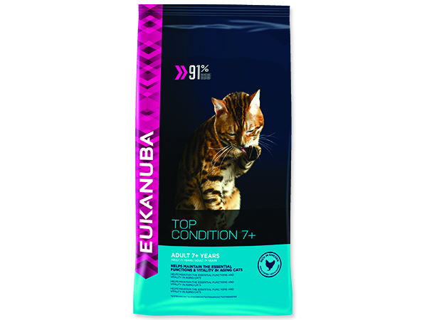 EUKANUBA Cat Adult Top Condition 7+ 4kg