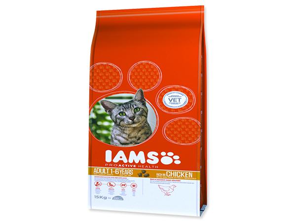 IAMS Cat rich in Chicken 15kg