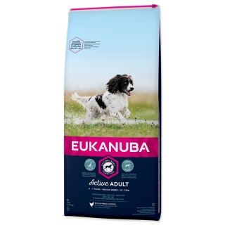 EUKANUBA Adult Medium Breed 15kg