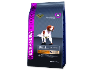 EUKANUBA Adult Small & Medium Lamb & Rice 2,5kg
