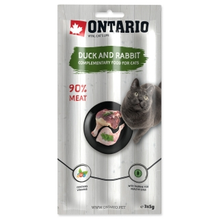 Stick ONTARIO for cats Duck & Rabbit 15g