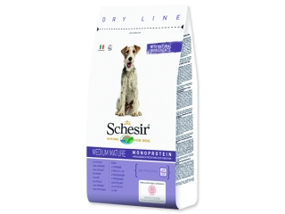 SCHESIR Dog Medium Mature kuřecí 12kg