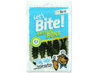 Snack BRIT Dog Lets Bite Brushin` Bone 90g