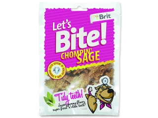 Snack BRIT Dog Lets Bite Chompin` Sage 150g