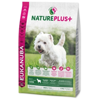 EUKANUBA Nature Plus+ Adult Small Breed Rich in freshly frozen Lamb 14kg