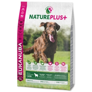 EUKANUBA Nature Plus+ Adult Large Breed Rich in freshly frozen Lamb 14kg