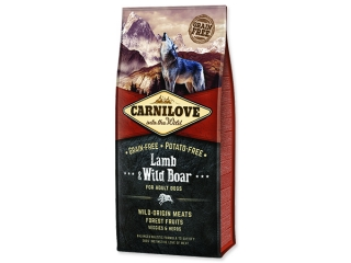 CARNILOVE Lamb & Wild Boar for Dog Adult 12kg