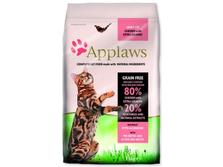 Sleva 23% - APPLAWS Dry Cat Chicken & Salmon 7,5kg