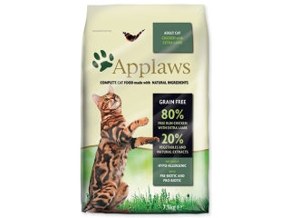 Sleva 23% - APPLAWS Dry Cat Chicken with Lamb 7,5kg