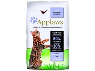 Sleva 18% - APPLAWS Dry Cat Chicken with Duck 7,5kg