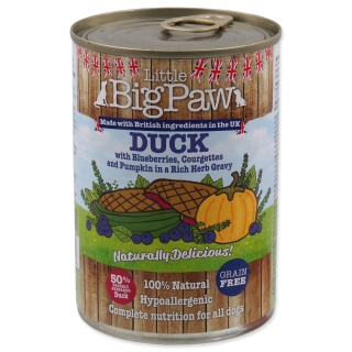 Konzerva LITTLE BIGPAW Dog kachna 390g