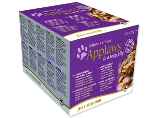 Konzervy APPLAWS Cat Jelly Selection multipack 12 x 70 g 840g