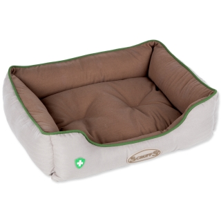 Pelech SCRUFFS Insect Shield Box Bed hnědý 60 x 50 cm
