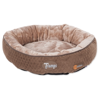 Tramps SCRUFFS Thermal Ring Bed čokoládový 50 cm
