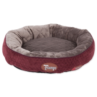 Tramps SCRUFFS Thermal Ring Bed červený 50 cm