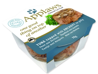 Kalíšek APPLAWS Cat Tuna with Anchovy Layer 70g