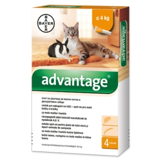 Advantage 40 mg spot-on 0,4ml