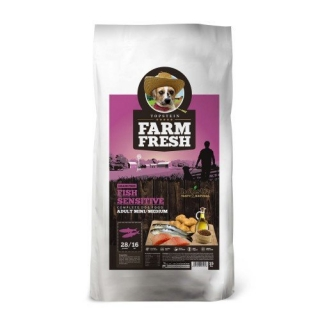 FARM FRESH FISH SENSITIVE MINI/MEDIUM GRAIN FREE 1,8kg