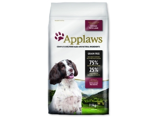 Sleva 21% - APPLAWS Dry Dog Lamb Small & Medium Breed Adult 7,5kg