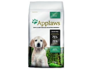 Sleva 21% - APPLAWS Dry Dog Chicken Small & Medium Breed Puppy 7,5kg
