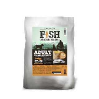 FISH CRUNCHIES FOR DOGS SMALL/MEDIUM 10kg