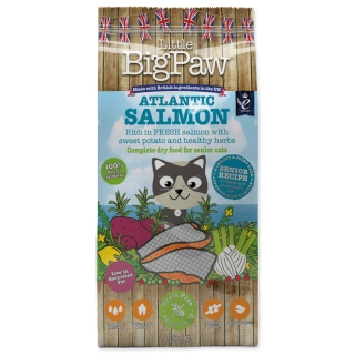 Krmivo LITTLE BIGPAW Cat Senior losos 1,5kg