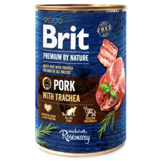 BRIT Premium by Nature Pork with Trachea 400g