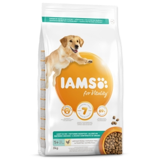 IAMS Dog Adult Weight Control Chicken 3kg