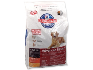 HILL`S Science Plan Canine Adult Advanced Fitness Large Breed Chicken 12kg