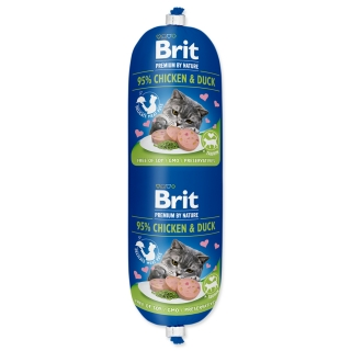 BRIT Premium by Nature Sausage CAT Chicken & Duck 180g
