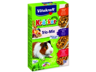 Kracker VITAKRAFT Guinea Pig Honey + Fruit + Nut 3ks