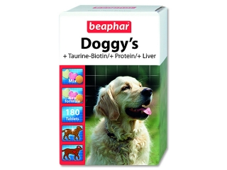 Pochoutka BEAPHAR Doggy`s mix 180 tablet