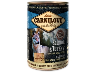 Carnilove Dog Wild Meat Salmon & Turkey 400 g