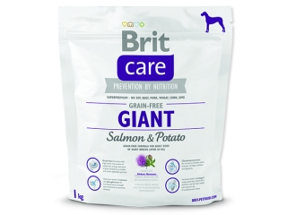 BRIT Care Grain-free Dog Giant Salmon & Potato 1kg