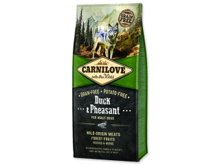 CARNILOVE Duck & Pheasant for Dog Adult 12kg