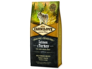 CARNILOVE Salmon & Turkey for Dog Large Breed Adult 12kg